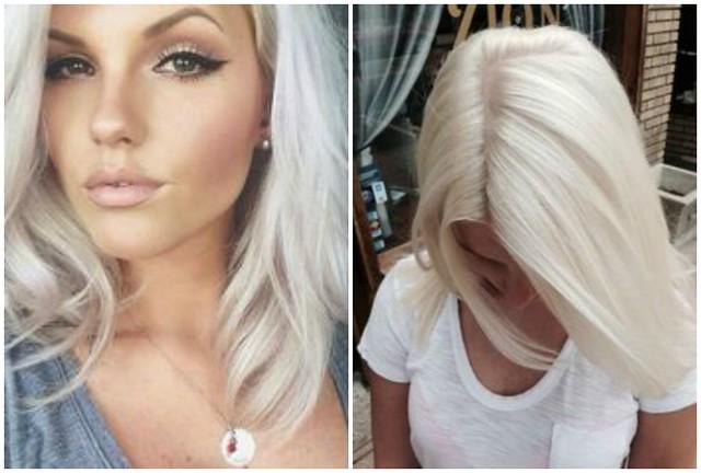 iceblonde5,Gray hair 3, hair, hiukset, harmaat, harmaat hiukset, hair style, hair styling, hiusjuttu, new hair, uudet hiukset, kampaajalle, silver hair, hopeat hiukset,  ice blonde, jääblondi, silver blonde, white gray, white gray blonde, blond, blondit hiukset,