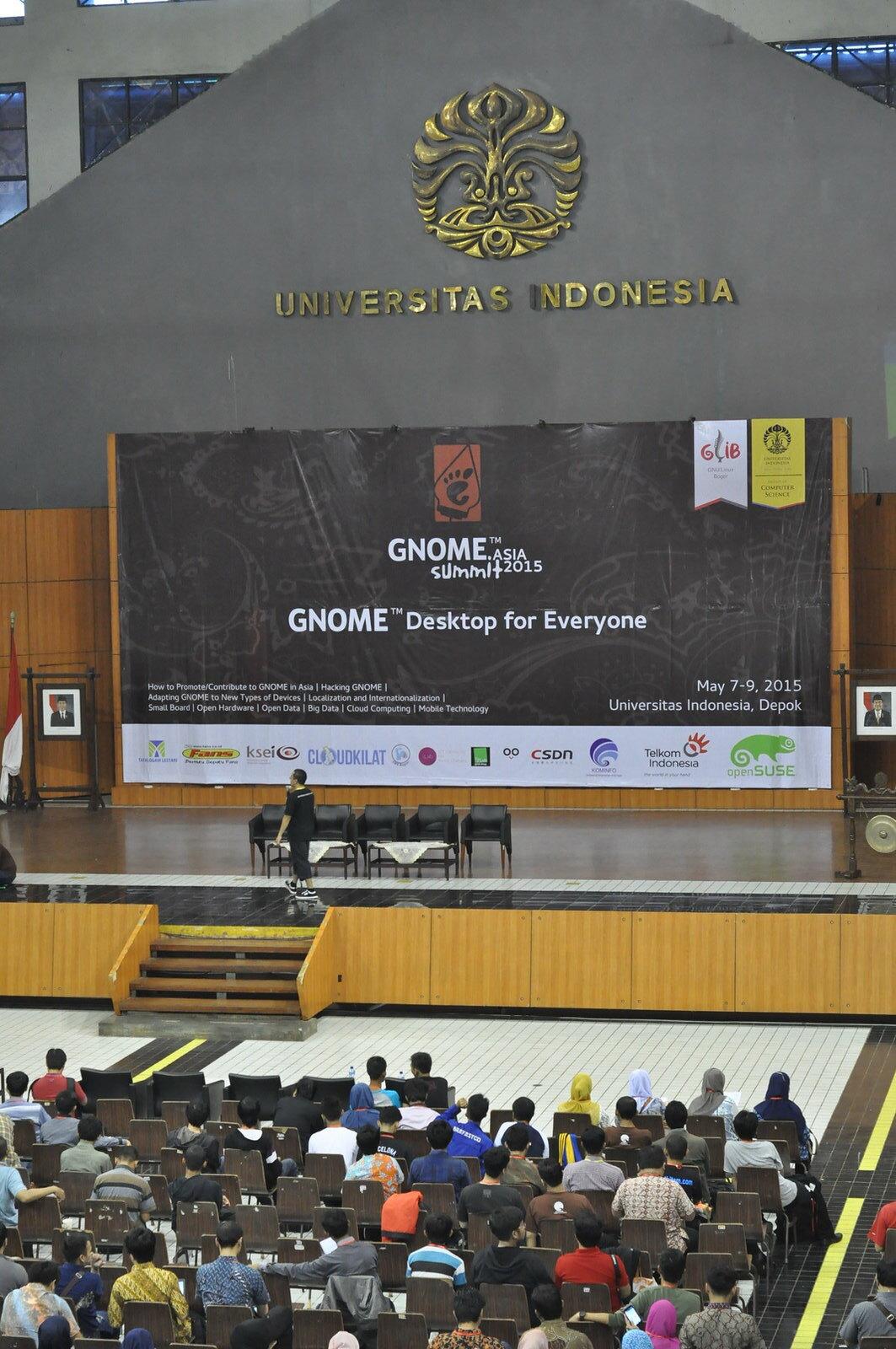 BlankOn di GNOME Asia 2015