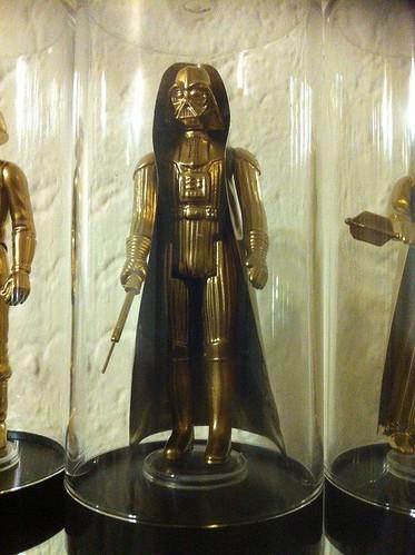 Vintage Star Wars Action Figures 24KT Gold Edition Darth Vader