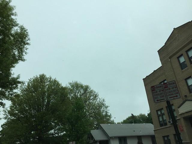 grey skies, pre-k pickup
