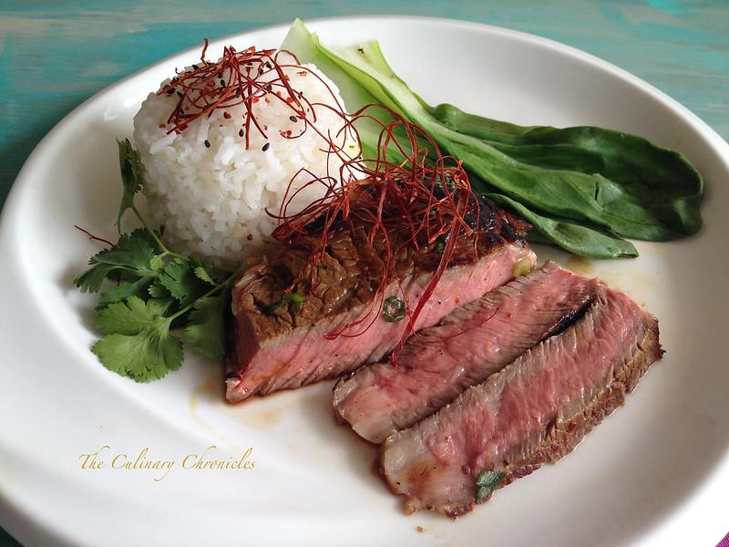Korean Inspired Ribeye Steak