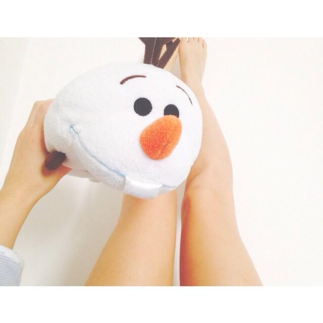 #OLAF ⛄️❄️ #frozen #disneylover #disney #snow