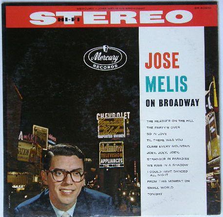 """Jose Melis """"On Broadway"""" (1961)"""