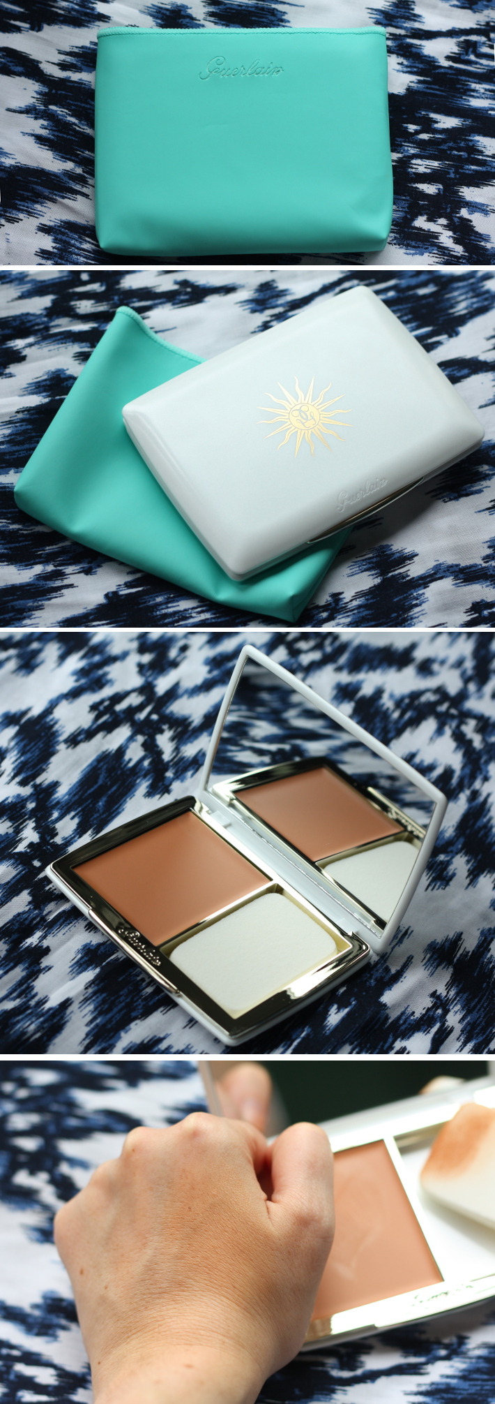 beauty: Guerlain Terracotta sun protection compact foundation in Sand: review and swatches