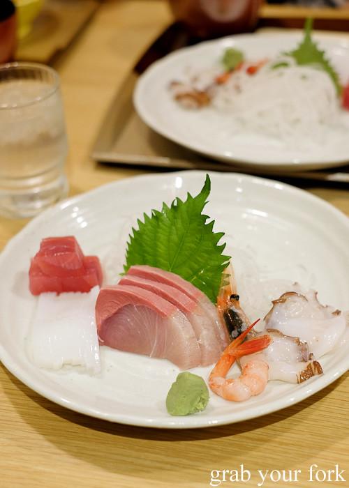 Seasonal sashimi set in Toyama, Japan
