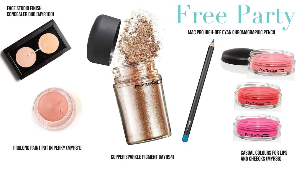mac trend ss15 free party products