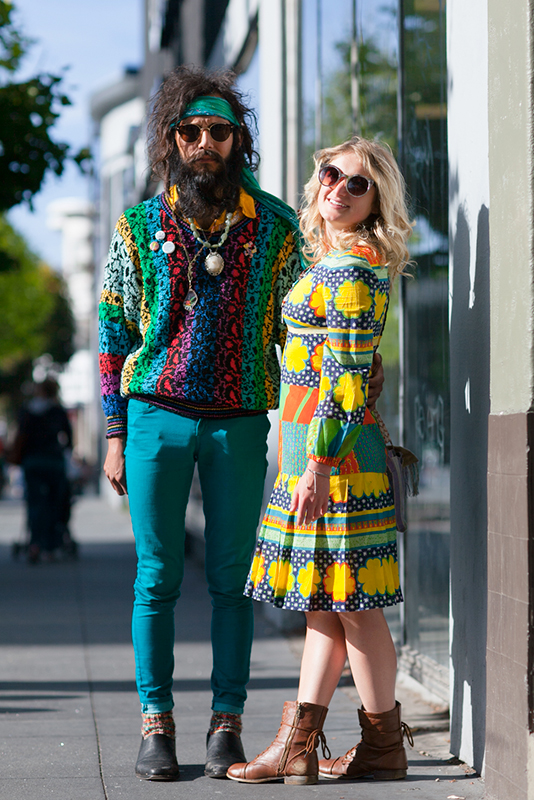 couplehowweird street style, street fashion, men, women, San Francisco, Valencia Street, Quick Shots