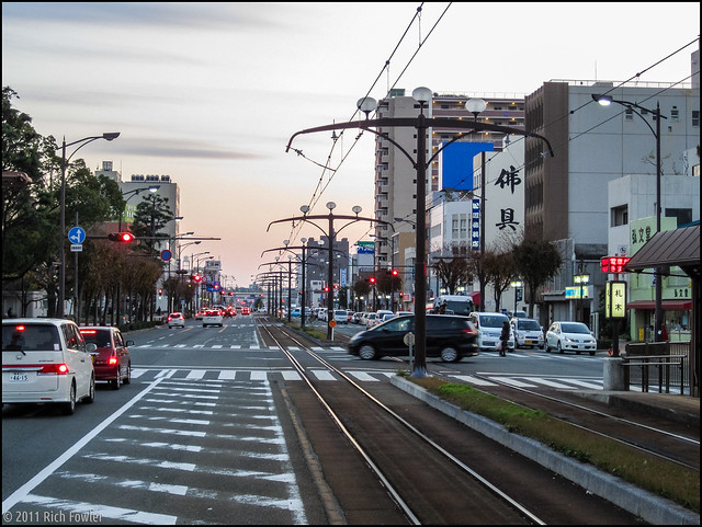 Fudagi Streetcar Stop, Toyohashi, Japan 2