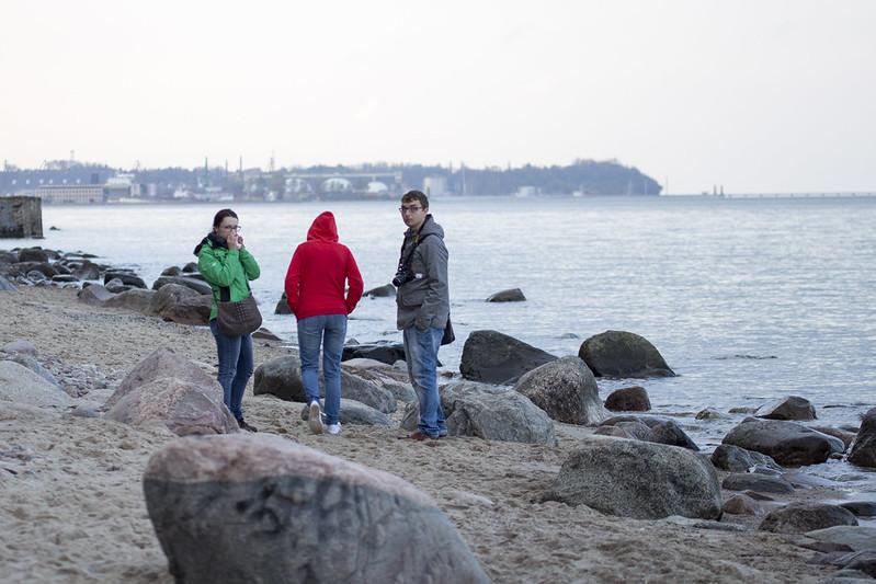 Beach in Orłowo