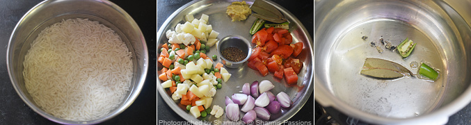 Vegetable Biryani Recipe - Step2