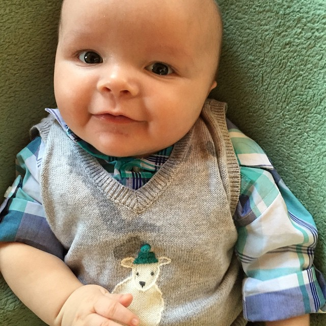 Our little bunny! #DMbabies #babyhood  #easter