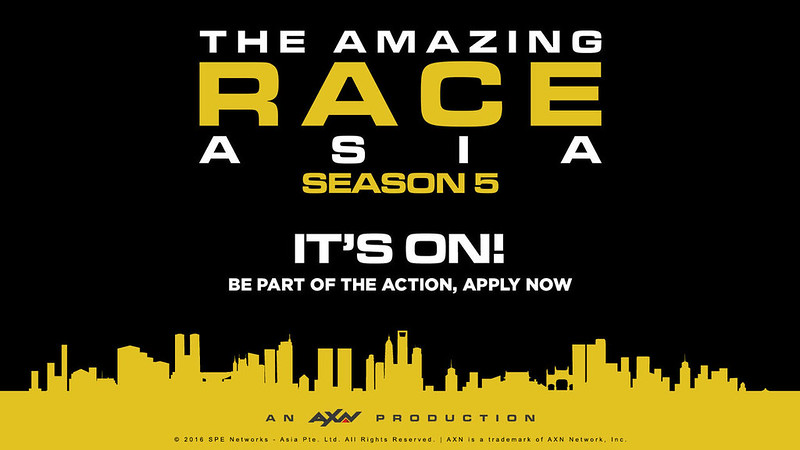 Amazing Race poster