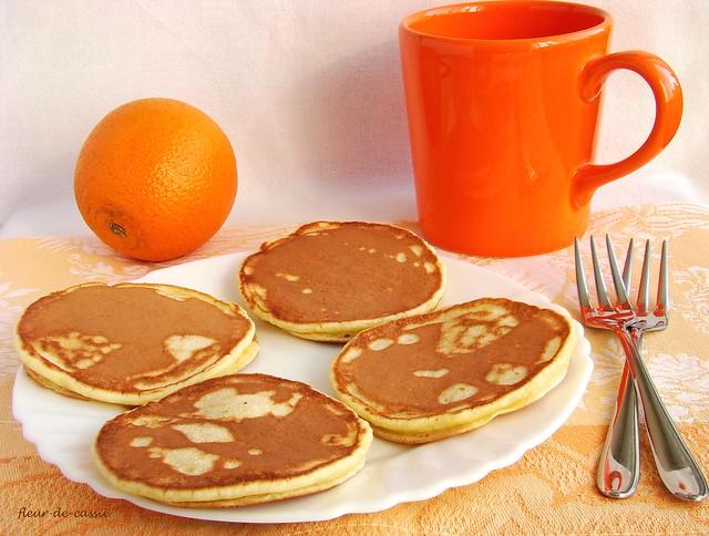 апельсиновые панкейки с рикоттой 1