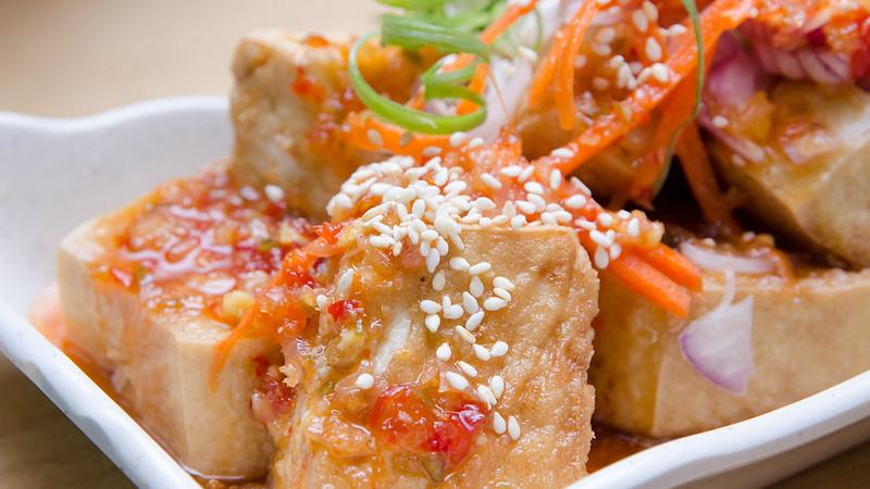 Ah Chui Seafood Restaurant 阿水海鲜 Thai Style Tofu