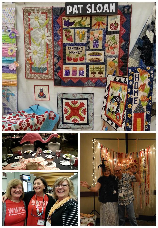 pat sloan quilt market may 2015