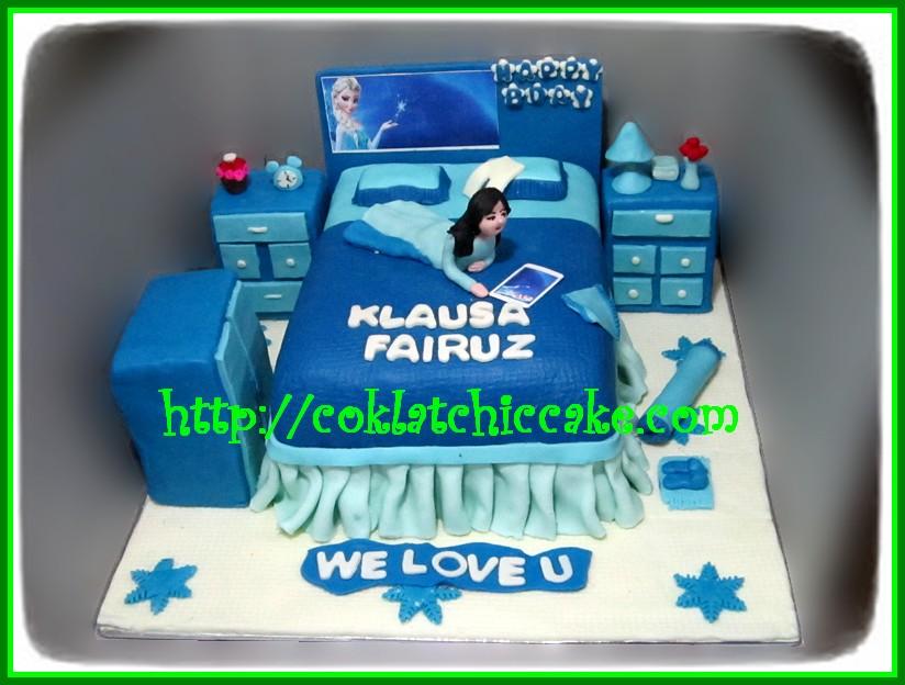 Cake Kamar Tidur Frozen Disney