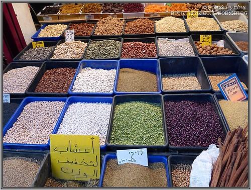 השוק בעכו העתיקה