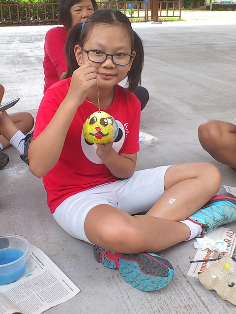 Paint a Husk with Hazel Huang for Pesta Ubin 2016