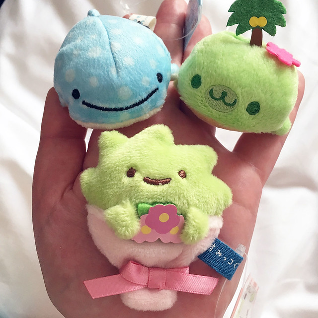 Mini plush from Kiddyland Osaka