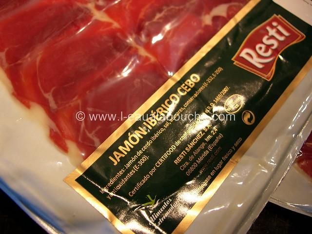 Sandwich au Jambon Ibérique © Ana Luthi Tous droits réservés 02