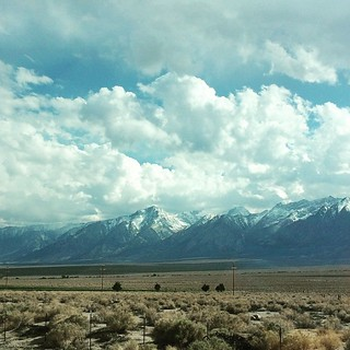 I love this scenery. #hwy395