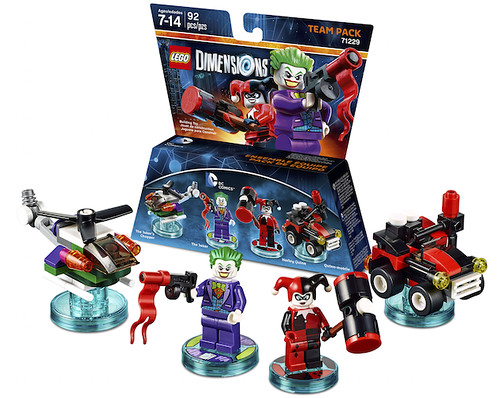 LEGO Dimensions Team Pack: Joker and Harley Quinn (71229)