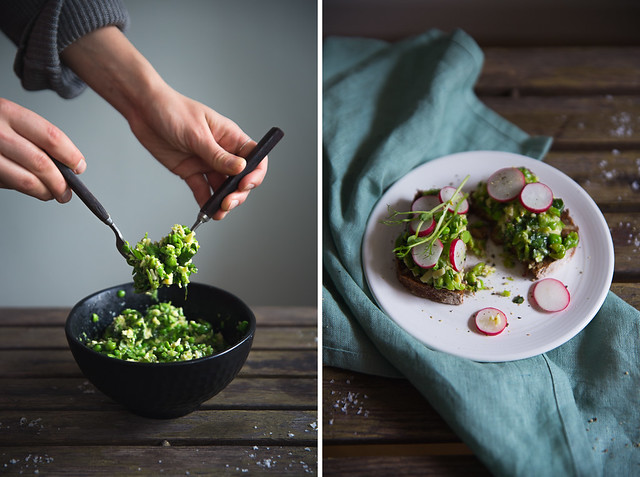 Rustic Pea Pesto | Cashew Kitchen