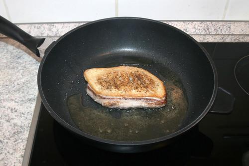 27 - Fleischseite anbraten / Fry meat side