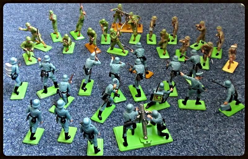 Toy soldiers, cowboys, indians, space men etc 16937576619_4f5fccae7d_c