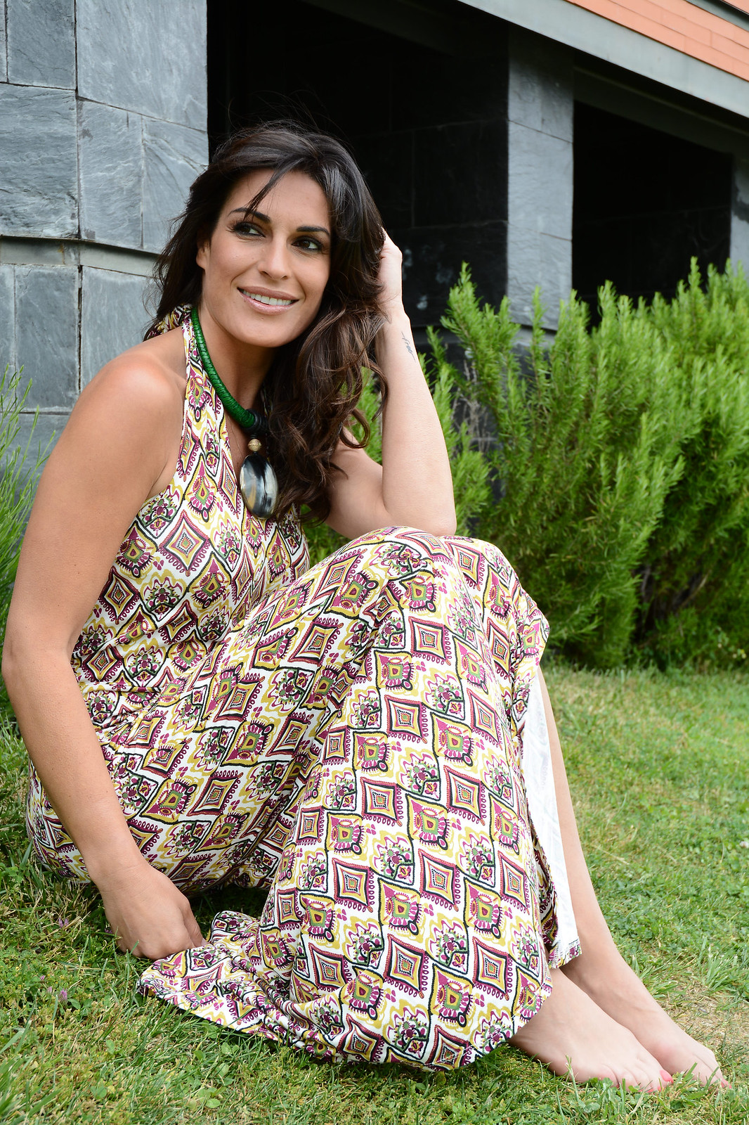 look-estampado-rombos