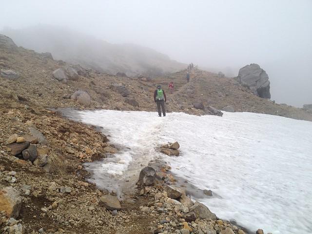 白山 翠ヶ池 登山道