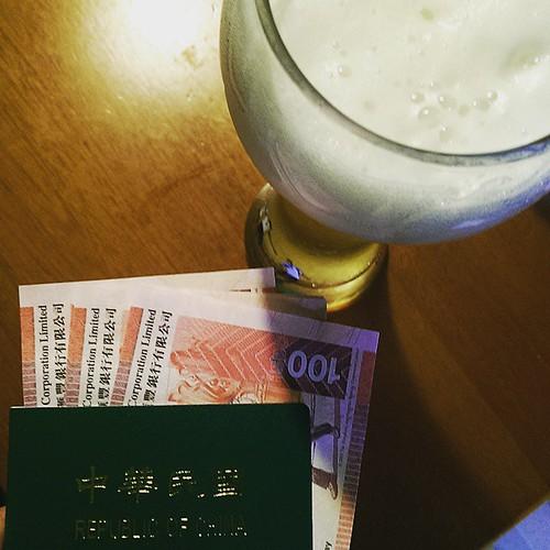 20150514 今天快閃台北跑了八個地方 拿了護照 換了港幣 面交了八百樣東西與感情 跟自己吃了一頓飯  謝謝愛我的你們~
