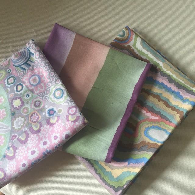 I miei colori per la sciarpa di Ersilia Hobby Cucito :) My colors for the scarf by Ersilia:)