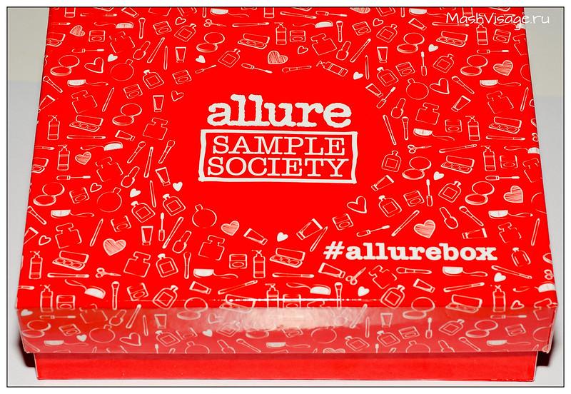 Allurebox #4 апрель 2015 отзыв
