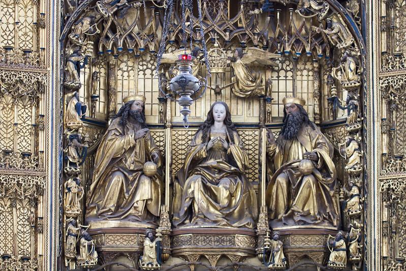 Ołtarz główny - Kościół Mariacki w Gdańsku