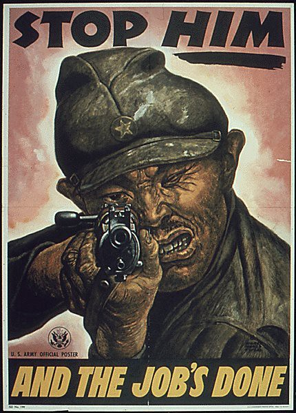 World War II Poster - Stop Him