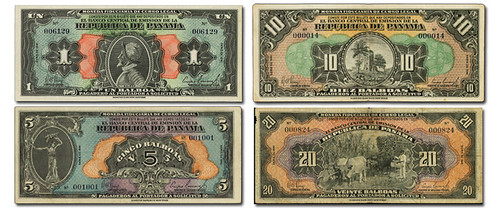 1941 Panama 'Arias' Currency Issue