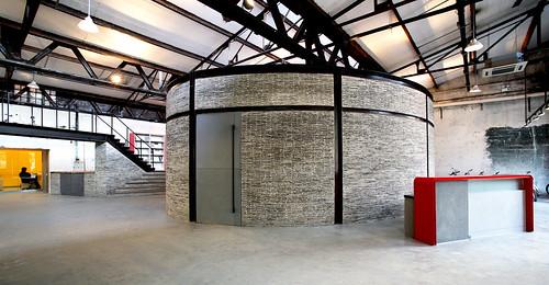 潘冀聯合建築師事務所 - 群裕設計諮詢上海辦公室整修