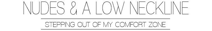 Nude colors & low neckline | Lisa Fiege | Fashionblog | Köln