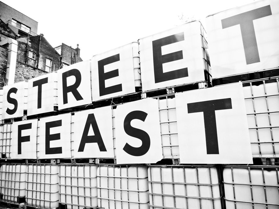 BW-Logo-of-Dalston-Street-Feast,-London