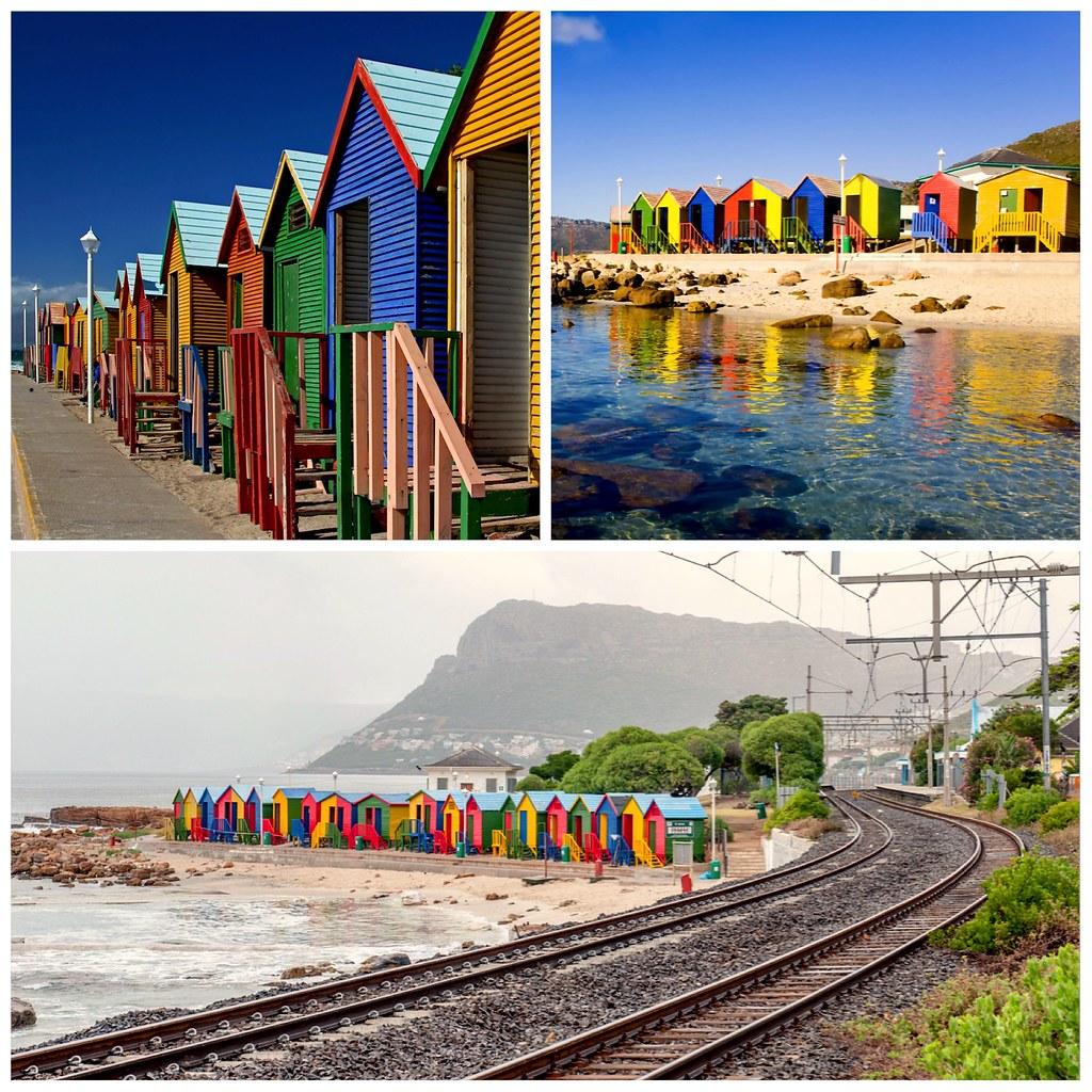 Casas de colores Ciudad del Cabo