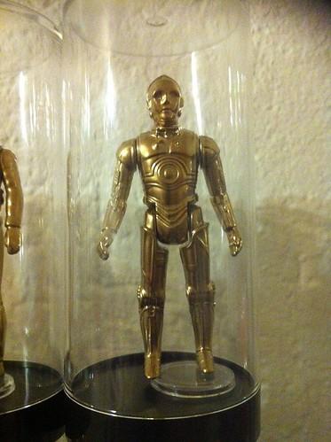 Vintage Star Wars Action Figures 24KT Gold Edition C-3PO