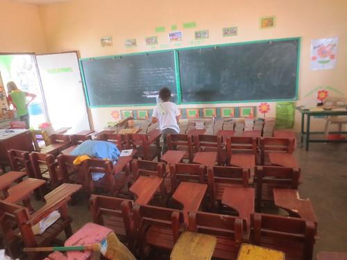 Classroom in Verde island