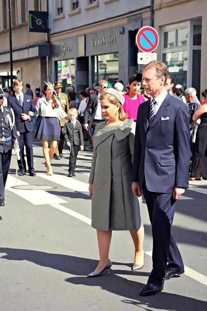 Luxemburgin suurherttua ja suurherttuatar
