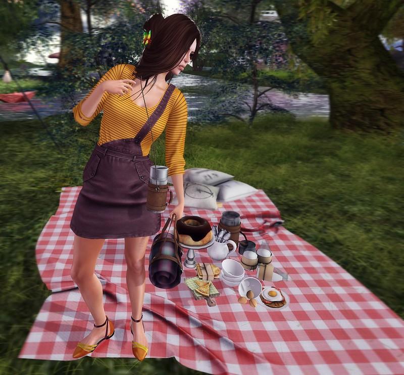 My lil picnic