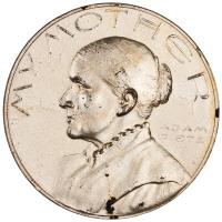 Adam Pietz My Mother medal 0000.999.48630.obv