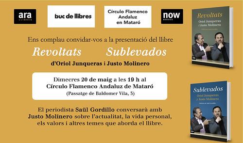 Presentació llibre Revoltats a Mataró