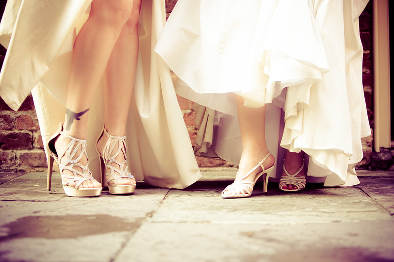 New Orleans two-bride wedding from @offbeatbridee