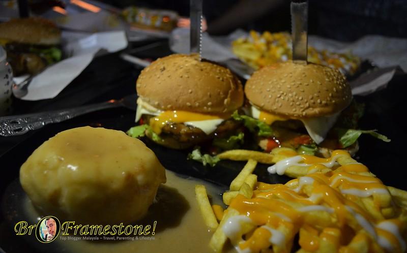 RGB Burger (Rasta Grill Burger) - A&J Burger Grill, Sungai Buloh