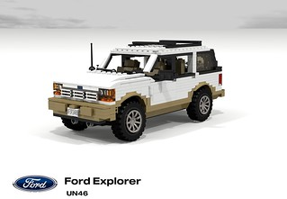 Ford Explorer Eddie Bauer Edition (UN46 - 1990)